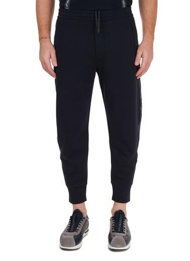 Emporio Armani  Logo Bantlı Pamuklu Jogger Pantolon Erkek Pantolon S 6H1P50 1Jhsz 0920 Lacivert